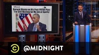 President of Playlists - @midnight with Chris Hardwick