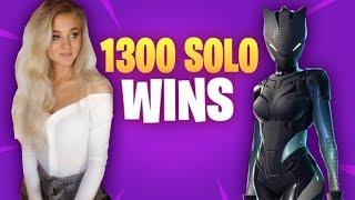 Fortnite - So close to 1400 solo wins.. Christmas Eve Stream :)