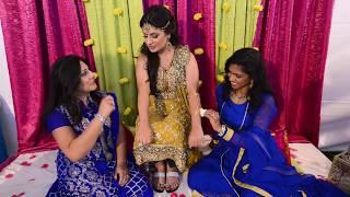 Ammara & Badar's Mehndi/Mayun Highlights- best pakistani wedding