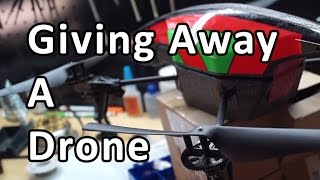 Giving Away A Drone! Welcome to 2017