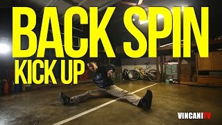 How To Breakdance   Backspin to Kick Up   Beginners Guide