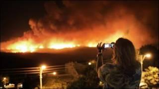 اسرائيل طلبت مساعدات دولية لإخماد حريق غابات