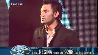 REGINA feat JUDIKA  Making Love Out Of  Nothing At All live @Indonesian Idol 16 Juni 2012