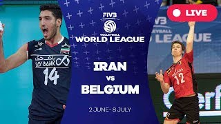 Iran v Belgium - Group 1: 2017 FIVB Volleyball World League