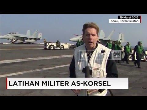 Ketegangan di Semenanjung Korea, AS-Korsel Latihan Militer