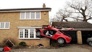 أغرب حوادث السيارات..!!