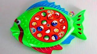 لعبة صياد السمك والسمكة البحرية للاطفال افضل العاب البنات والاولاد واجمل العاب صيد الاسماك بالسنارة