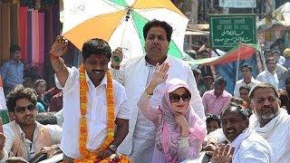 Ameesha Campaigns For Nand Gopal Gupta Nandi - BT
