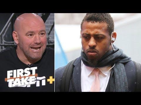 Xxx Mp4 Dana White Defends Greg Hardy Against Critics First Take 3gp Sex