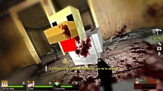 COMPAÑEROS LOCOS! - Willyrex Y sTaXx - MINECRAFT MOD - LEFT 4 DEAD 2