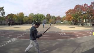 Major League Stickball - Joey Batts pitches the 5th inning Oct 24 2015 UPDATED v3