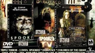 SPOOKED TV TRIPLE TERROR DVD SPECIAL  (SyFy/NBC Universal)
