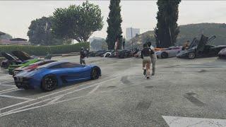GTA 5 Livestream Super Car Meet/Drag Races, and More!