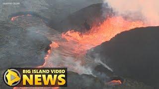 Hawaii Volcano Eruption Update - Saturday Morning (June 23, 2018)