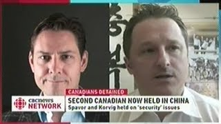 CHINA DETAINS SECOND CANADIAN!