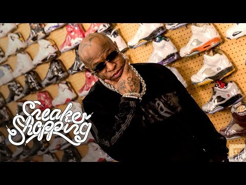 Birdman Goes Sneaker Shopping With Complex