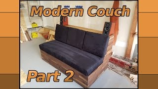 Making a Modern Couch   2