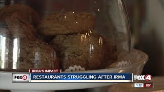 Restaurants struggling after Irma
