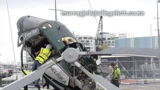 تحطم طائرة هليكوبتر في نيوزيلندا والمتسبب هو