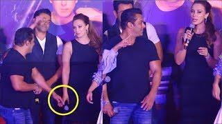 Salman Khan Spotted With Girlfriend Iulia Vantur   Allah Duhahi Song Launch