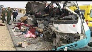 حوادث السيارات خطيرة 2017