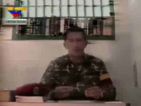 Chavez en la cárcel de Yare entrevistado por Rangel el 30 agosto 1992