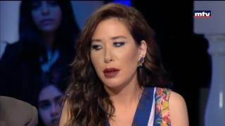 قبلة تثير أزمة بين سابين و الصحفي الجزائري ماليك سليماني في حديث البلد