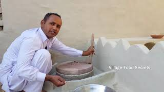Bajre ki Meethi Roti Recipe | Baajre da Mitha Todha by Mubashir Saddique | Village Food Secrets