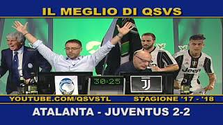 QSVS - I GOL DI ATALANTA - JUVENTUS 2-2  TELELOMBARDIA / TOP CALCIO 24