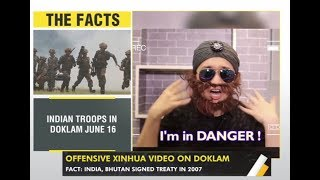 WION Gravitas: China mocks India with a racist video over Doklam standoff