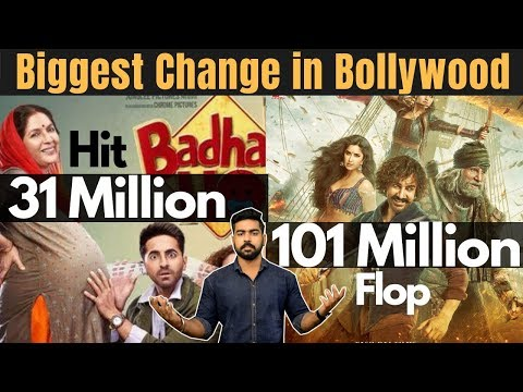 Biggest Change in Bollywood and Indian Cinema | Badhai Ho vs Thugs of Hindostan | Zero