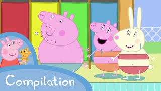 Peppa Pig - Peppa's fun day out! (15 minutes compilation)