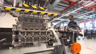 تجميع محرك AMG بمصنع مرسيدس