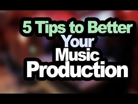 5 Tips That Will Make You a Better Music Producer