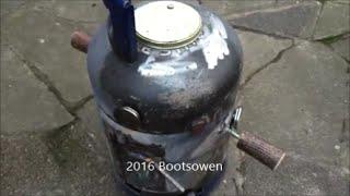 DIY Gas Cylinder BBQ Smoker
