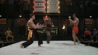 Blood Sport Semi Final (Van Damme VS. Muay Thai Master)