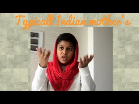 Typical Indian mother's ll by Aryan ll