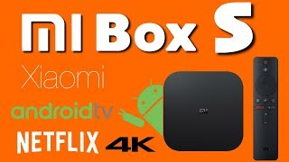 Xiaomi Mi Box S Android Android 8.1 4K TV Box Review