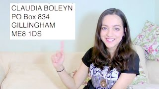 PO Box Gifts!!!! (Also hi, it's been a while!) xxx