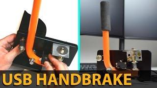 MAKE THIS EASY USB HANDBRAKE | SIM RACING | DIY | E-BRAKE
