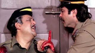 Anil Kapoor, Alok Nath, Mr. Azaad - Action Scene 9/13