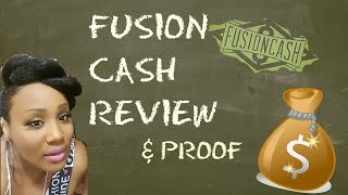 How to make money online with Fusion Cash Review & Proof💣