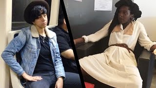 Women Try Manspreading For A Week