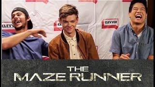 Maze Runner Cast Will Crack You Up