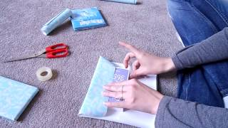ASMR Soft Spoken - Gift Wrapping, Presents, Paper Sounds