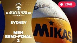 Sydney  2-Star 2017 - Men semi final 2 - Beach Volleyball World Tour