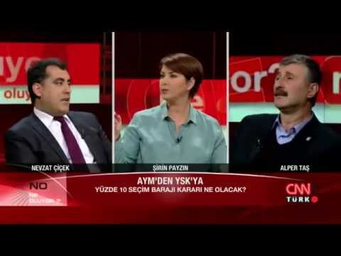 CNN Türk'te Abdülkadir Selvi Alper Taş'ı Çıldırttı!