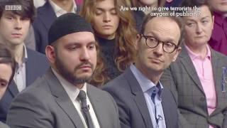 BBC 1 Big Questions: Should Terrorists get the oxygen of Publicity?