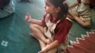 Tweesha-In her school @ yoga class-DPS-Surat.3GP