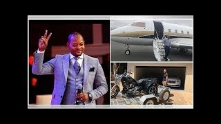 South African pastor Alph Lukau shows off his luxurious life (photos, video)